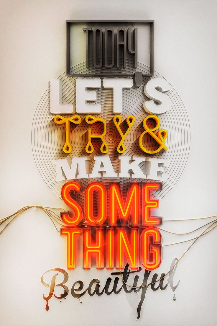 typography inspiration yas 1 Superb Hand Lettering & Typography Inspiration