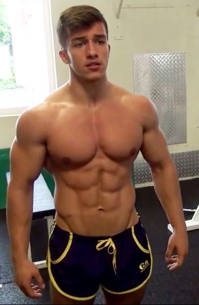Shirtless Teen Muscle 65