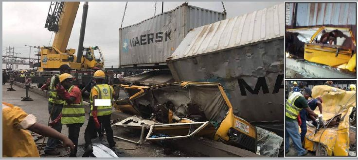 So Sad How Container Crushes Father Two Sons Returning From Redeemed Camp