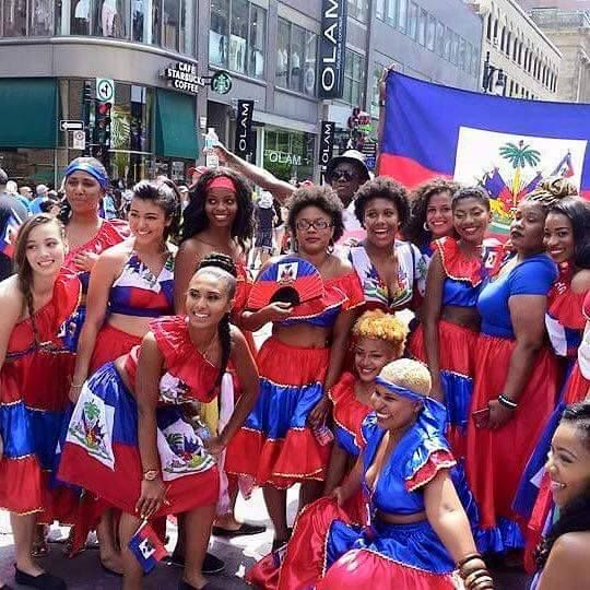Show of your flag during Haitian heritage and Haitian flag day.