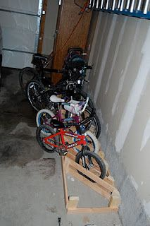 Homemade Bike Rack