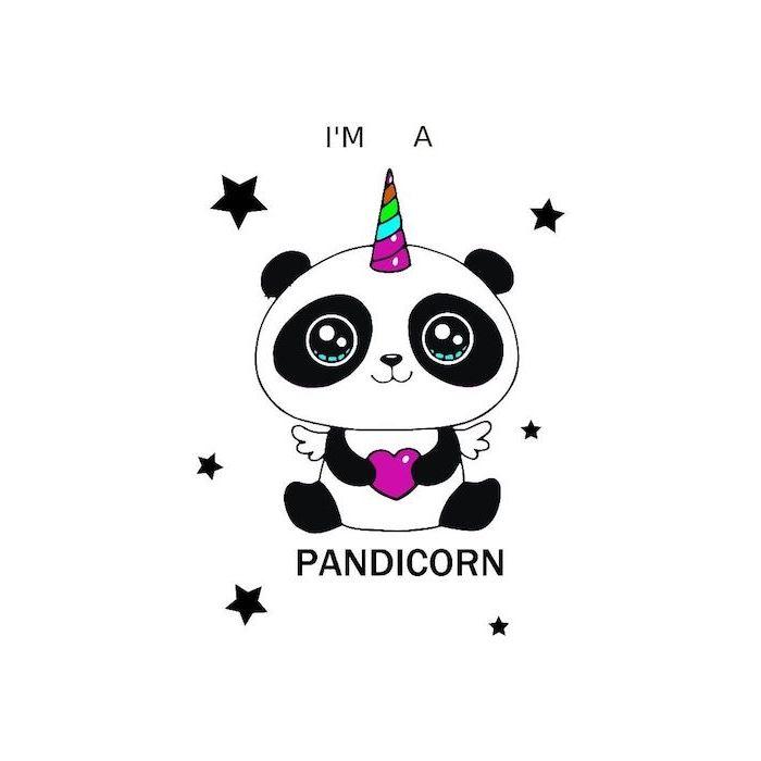 Panda Dessin Mignon