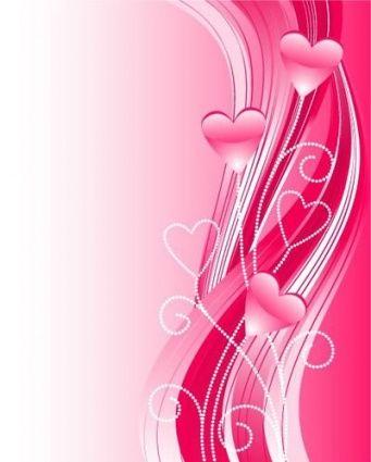 Valentine Background вектор, бесплатная векторная графика - Vector.me