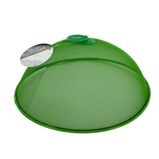 """Handy Helpers Mesh Food Cover - """"It ain't easy being green,"""" unless you're a Handy Helper food cover."""