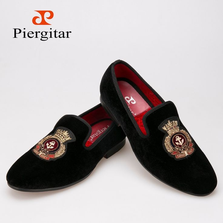 New style Velvet men shoes with Hand stitch Bullion embroidery Loafers Size Free shipping