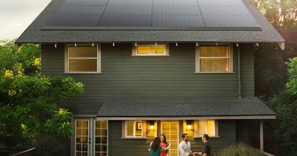 Tesla unveils sleek, barely noticeable solar panels - TreeHugger.com These solar panels can be added to any existing roof for low-profile solar energy.