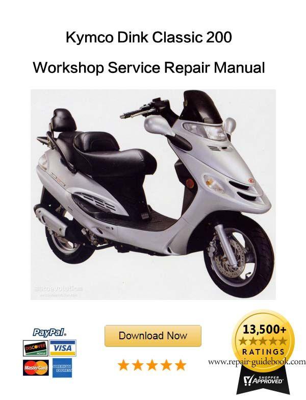 Kymco Dink Classic 200 Workshop Service Repair Manual