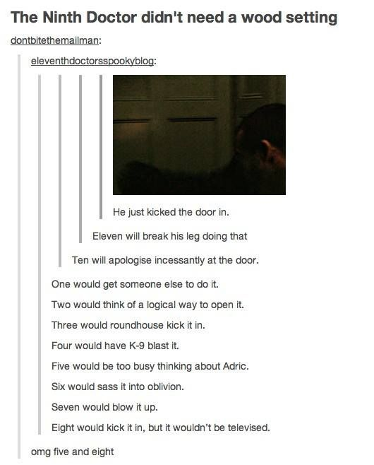 Six would sass it into oblivion.