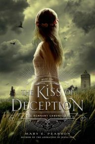"The Kiss of Deception By Mary E. Pearson - From a New York Times bestselling author comes a ""masterfully crafted"" tale (Publishers Weekly). Promised to a prince she's never met, Princess Lia flees her kingdom — only to come face-to-face with a dangerous assassin and the man she left behind… ""This is the kind of story I love"" (Cinda Williams Chima)."