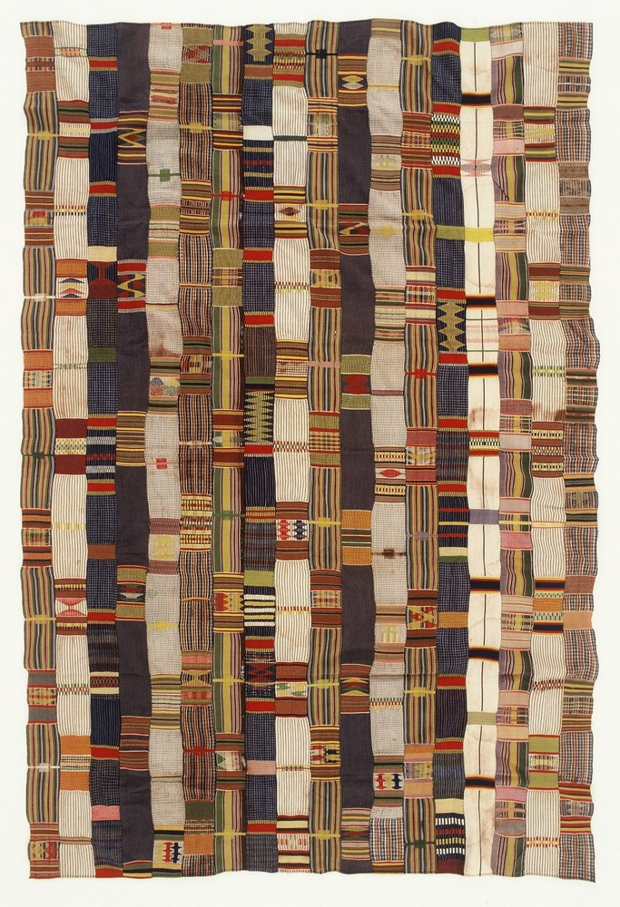 Africa | Ewe Cloth from Ghana | Karun Collection - I like the colors of Ewe better than Kente cloth