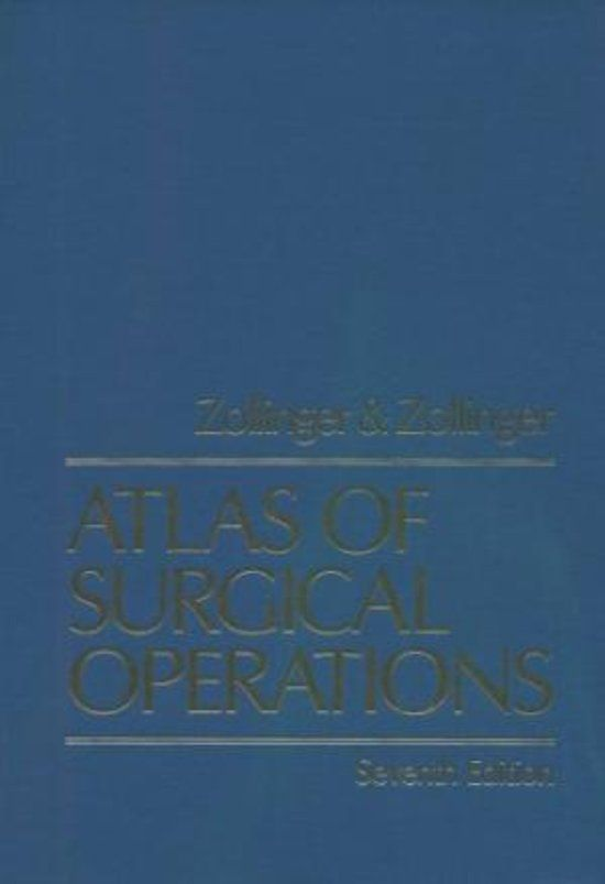 Atlas of Surgical Operations
