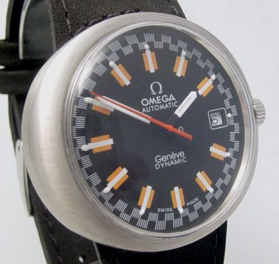 Omega Dynamic Very Rare Racing Dial Circa 1969