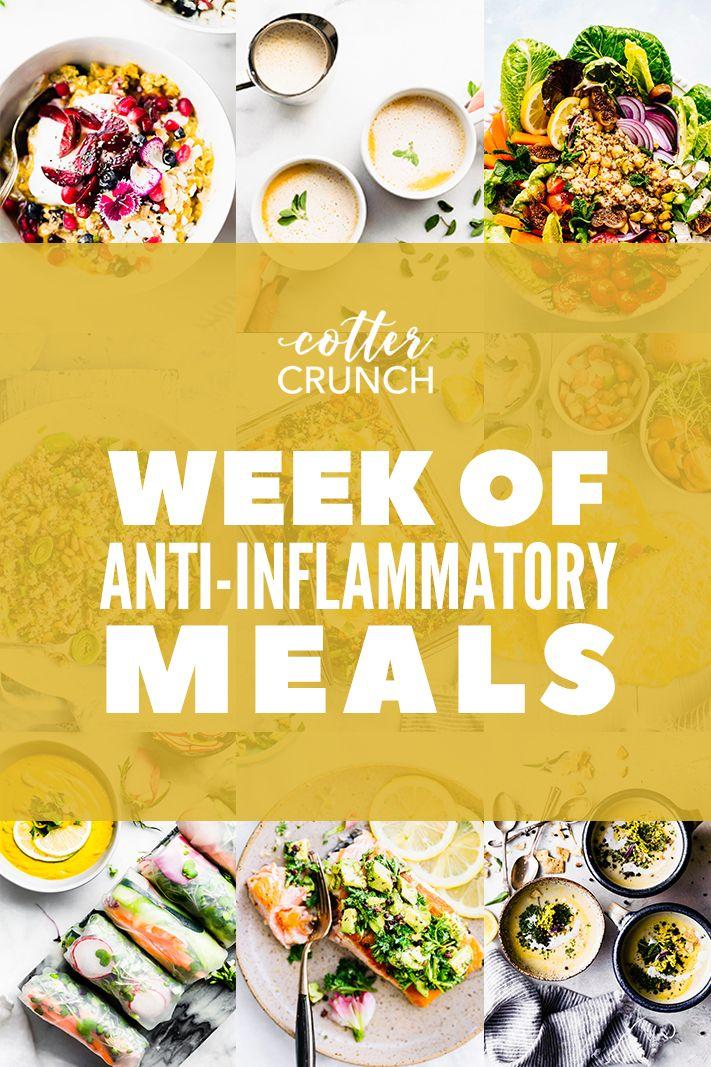 7 Day Anti Inflammatory Diet Kick Start Or Reset Guide Cotter Crunch Bloglo Anti Inflammatory Recipes Anti Inflammatory Diet Anti Inflammatory Diet Recipes