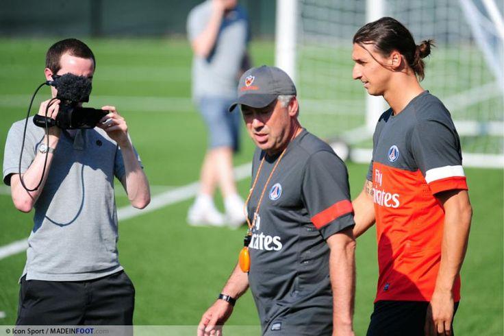 PSG : Zlatan parle de Carlo Ancelotti - http://www.europafoot.com/psg-zlatan-parle-de-carlo-ancelotti/