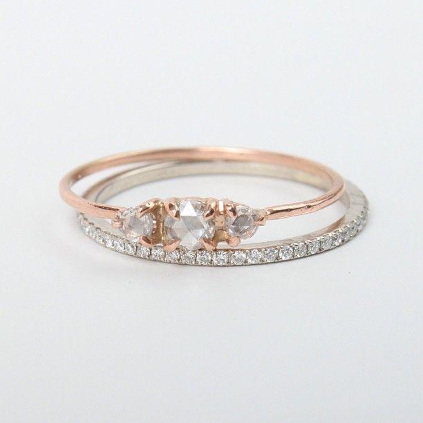 New elegant engagement rings