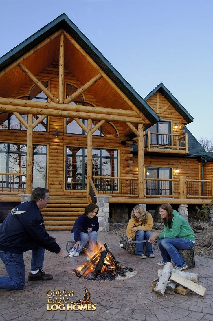 26 best country 39 s best luxury log home images on pinterest for Log home pictures exterior