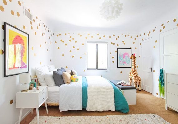 66 / 3 Polka Dot Wall Decals NEW larger amount by WallAffection