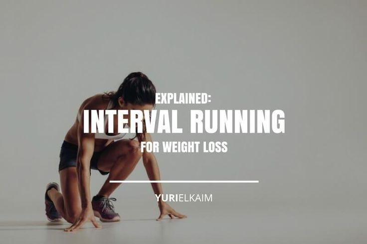 Interval Running for Weight Loss: Here's the Best Way to Do It