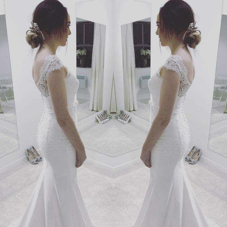 Yuriana by White One Barcelona in Zadika Bridal Fitting room