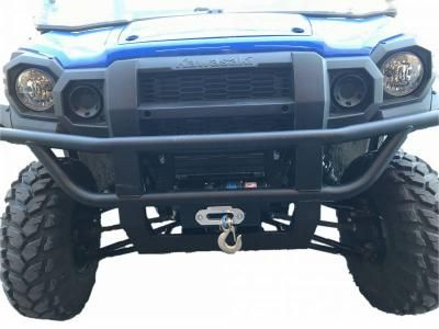 Extreme Metal Products Kawasaki MULE PRO-FX/FXT Winch Mount