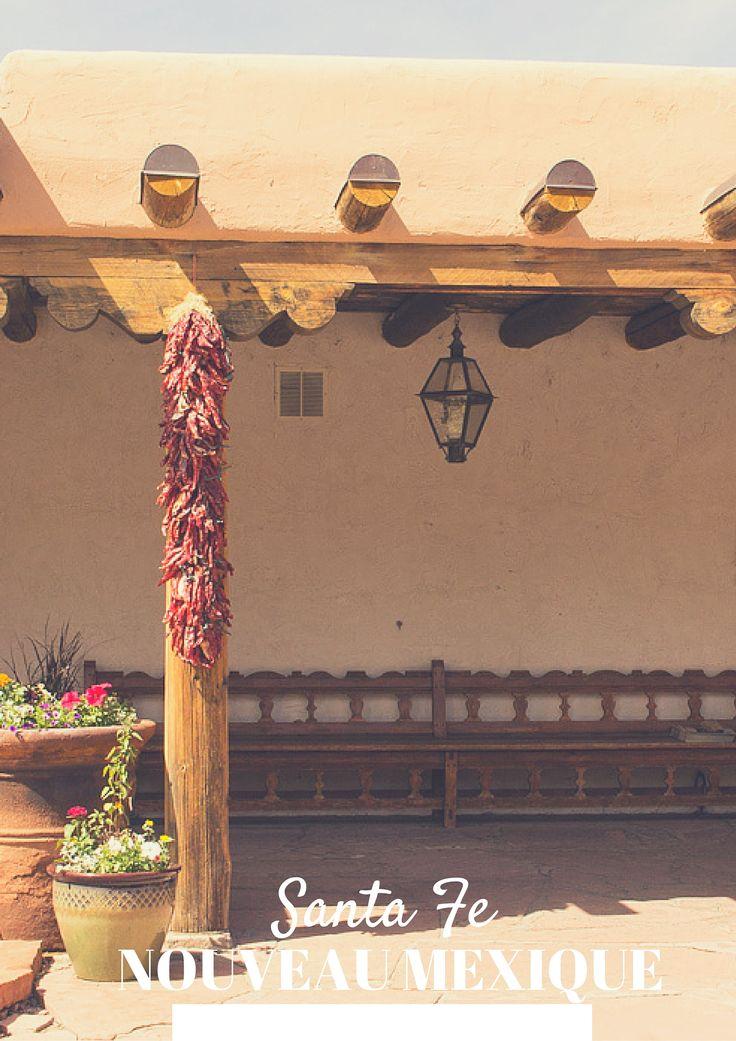 Santa fe, une jolie ville du Nouveau Mexique