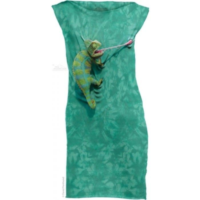 Mini Dress Dama 3D – Mini Dress Climbing Chamelion