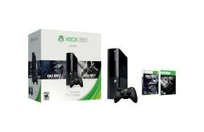The Xbox 360 500GB Holiday Value Bundle includes Call of Duty: Ghosts, Call of Duty: Black Ops 2, one month of Xbox Live Gold, and a 500 GB hard drive.