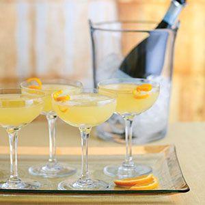 Fresh Orange, Rosemary, and Sage Sparkling Wine Cocktail | MyRecipes.com