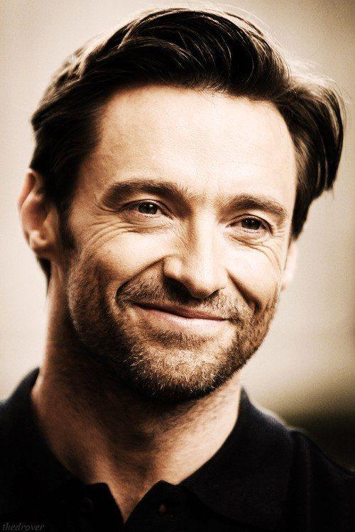 Hugh Jackman smile