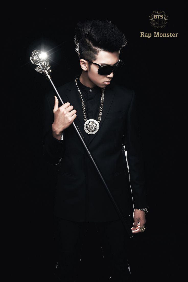 Bts No More Dream Rap Monster Bts Concept Photo