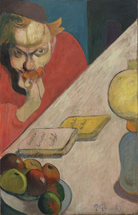Paul Gauguin, RITRATTO DI JACOB MEYER DE HAAN, 1889, 80 cm x 52 cm, Colore ad olio, MoMA