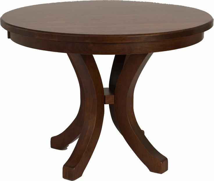 Montrose Round Table In Mahogany Oak