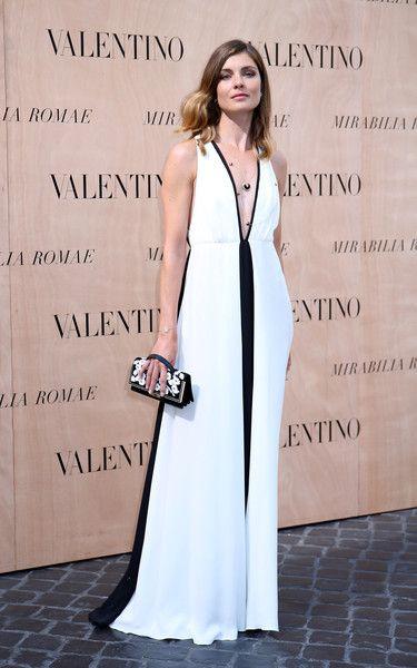 Vittoria Puccini - Valentino 'Mirabilia Romae' Haute Couture Fall 2015 - Arrivals - July 9, 2015