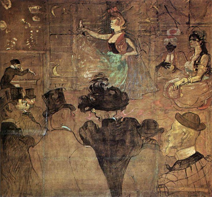 Moorish Dance (Les Almées) | Henri De Toulouse-Lautrec | Fine Art Biblio