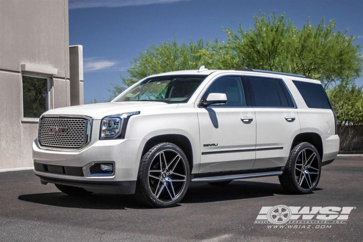 "2015 GMC Yukon Denali with 24"" Koko Kuture Wheels by Wheel Specialists, Inc. in Tempe AZ . Click to view more photos and mod info."