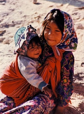Niños tarahumaras, que sonrisas~