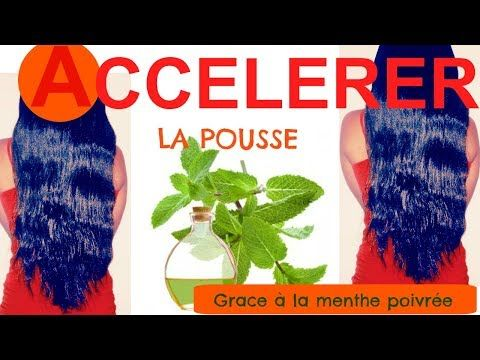 ACCELERER LA POUSSE DES CHEVEUX grâce à l'huile essentielle de MENTHE POIVREE - YouTube