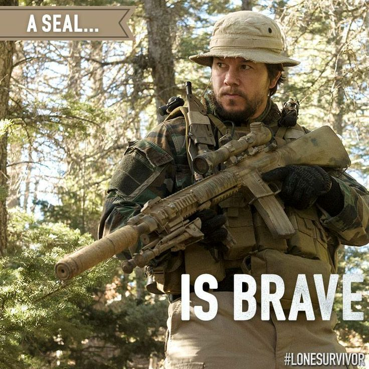What does bravery mean to you? #LoneSurvivor