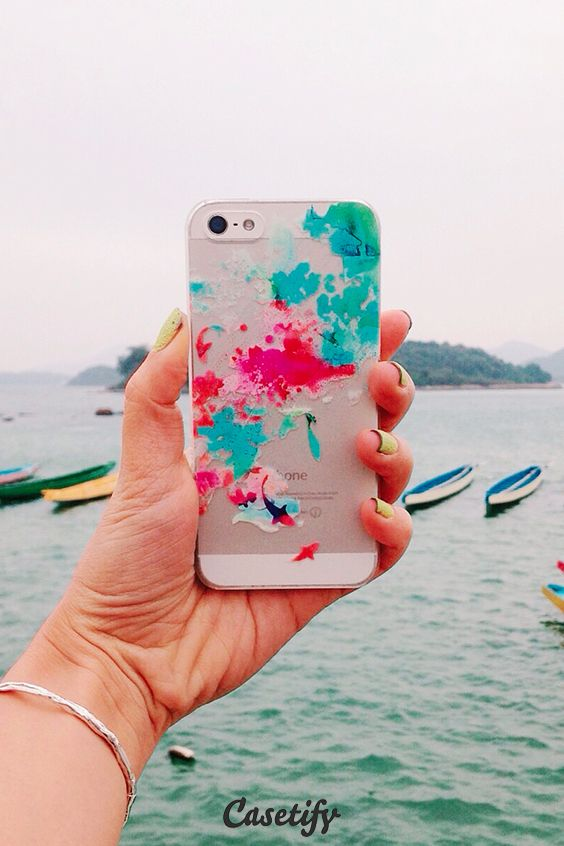 Watercolor pond. Click through to check out more iPhone 6 cases by Choma Case here >>> https://www.casetify.com/budikwan/collection | @casetify