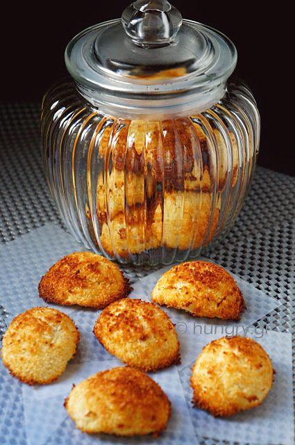Μαλακά Μπισκότα Καρύδας με Στέβια