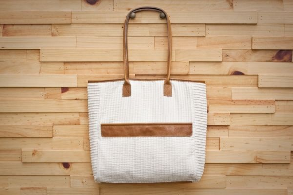 perfect simple tote by Fabric & Handle
