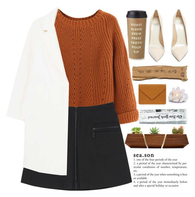 """""""A Fallen Star, Fell"""" by rredamancy ❤ liked on Polyvore featuring WithChic, Kenzo, Kate Spade, Francesco Russo and MANGO"""