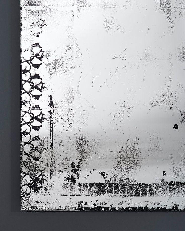 mirrordeco.com — Full Length Hall Mirror - Distressed Glass Finish  H:153cm