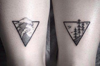 Dreieck mit bild