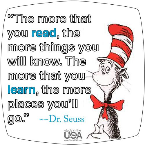 Dr. Suess Quotes, Funny Collection of Famous Dr. Seuss Quotes