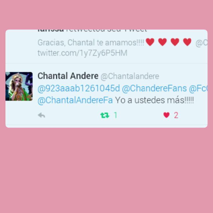 Te amo Chantal!!