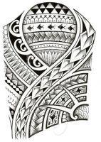 Polynesian 3/4 sleeve 01-A by dfmurcia
