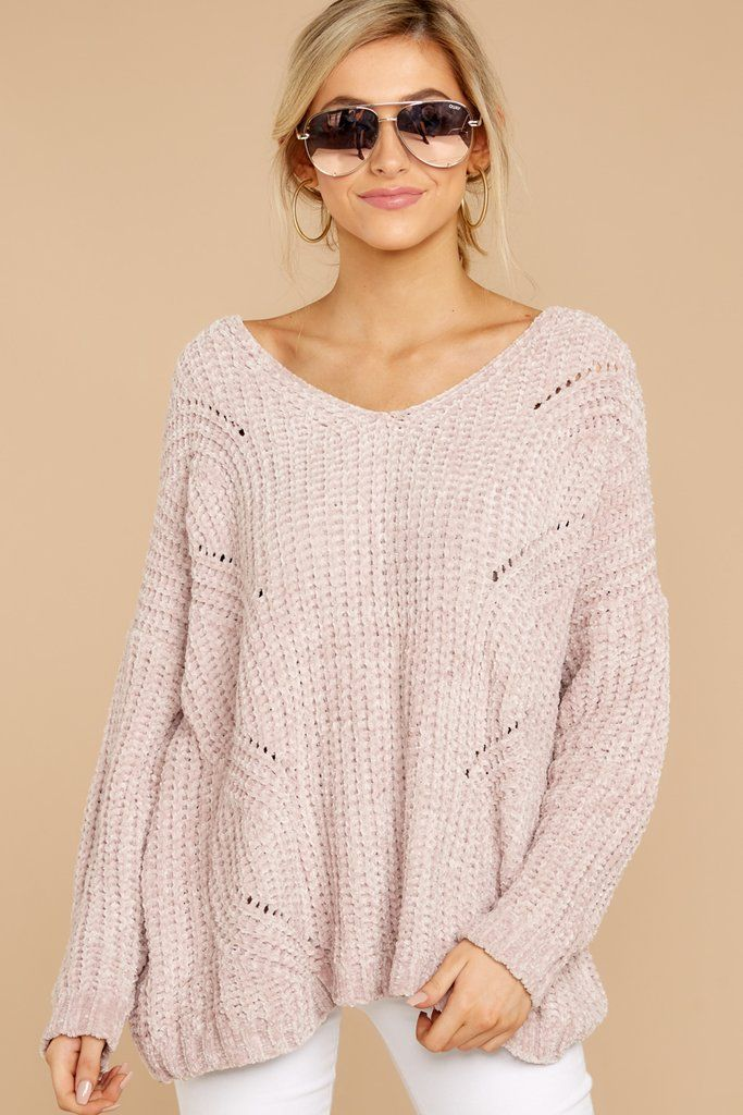 Bring It To Light Blush Pink Sweater Clothes Pinterest