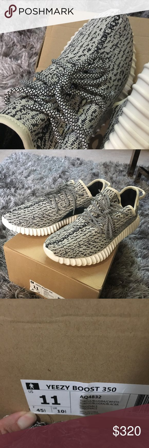 Men Yeezy boost 350 in size 11 Men yeezy boost turtle doove in size 22. Never worn brand new . Purchase them for $600 off of eBay. Yeezy Shoes Sneakers