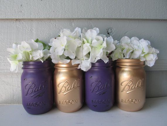 Etsy listing at https://www.etsy.com/listing/194913362/painted-and-distressed-ball-mason-jars